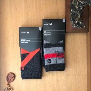 Stance socks men's. 2 pairs.